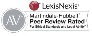 Richard Knellinger has an AV ® Peer Review Rating - the highest rating bestowed by Martindale-Hubbell